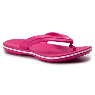 Japonki CROCS - Crocband Flip Gs 205778 Candy Pink