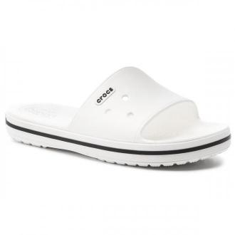 Klapki CROCS - Crocband III Slide 205733 White/Black