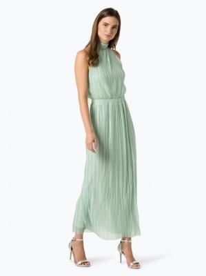 Vila - Damska sukienka wieczorowa – Vitippy, zielony