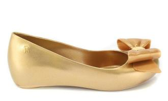 Baleriny Letnie Melissa 32252 19701 Gold