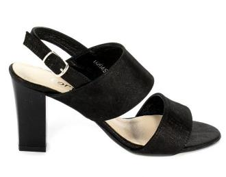 Sandały Cortesini 02045 Czarny/Len