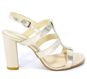 Sandały Euro Moda Ro 413 Złoto