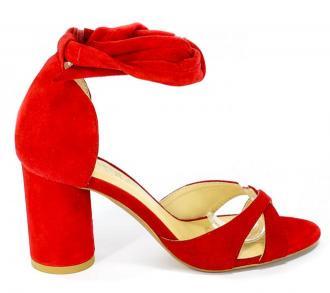 Sandały Badura 4362-69 Czerwony