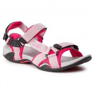 Sandały CMP - Hamal Wmn Hiking Sandal 38Q9956 Ghiaccio/Corallo 40XC