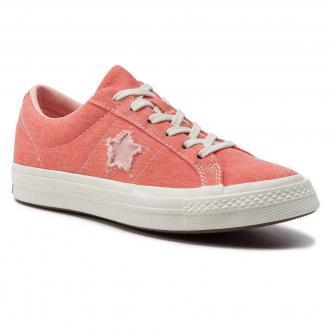 Tenisówki CONVERSE - One Star Ox 164362C Turf Orange/Bleached Coral