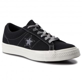 Tenisówki CONVERSE - One Star Ox 564151C Black/Cool Grey/Egret