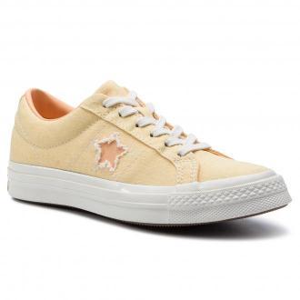 Tenisówki CONVERSE - One Star Ox 164358C Butter Yellow/Melon Baller
