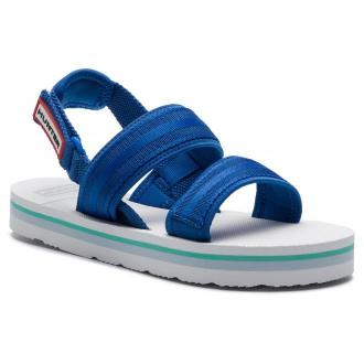 Sandały HUNTER - Original Beach Sandal WFD4025WEB  Bucket Blue/White