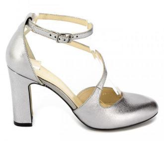 Sandały Kotyl 5909 Srebrny Szary