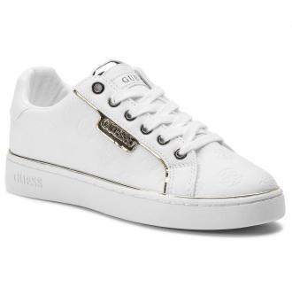 Sneakersy GUESS - Banq FL7BAN ELE12 WHITE