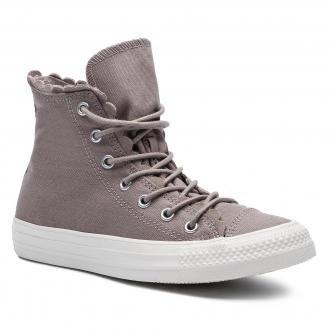 Sneakersy CONVERSE - Ctas Hi 564119C Sepia Stoe/Sepia Stone/Egret