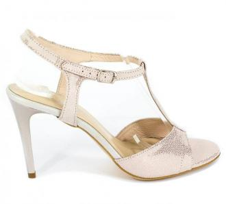 Sandały Lucca 38085/1 Pud Róż Kółeczka