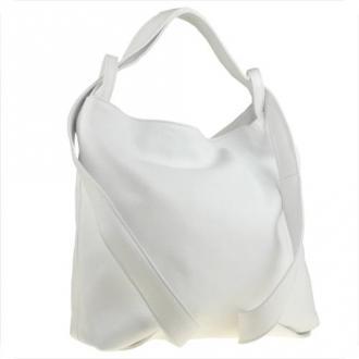 Torebko - plecak duży biały xl