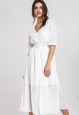 Biała Sukienka Facial Expression