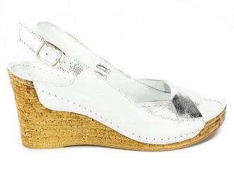 Sandały Verano 1838 Srebro Rosa Srebro Lico