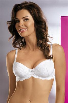 Biustonosz Basic Nicole 2411 biały