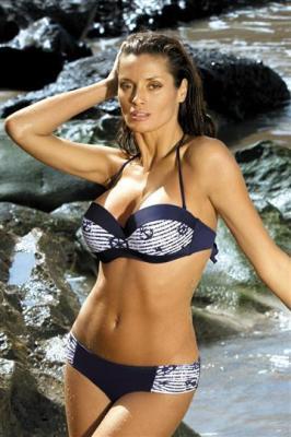 Kostium kąpielowy Claire M-201 Granatowy (101)