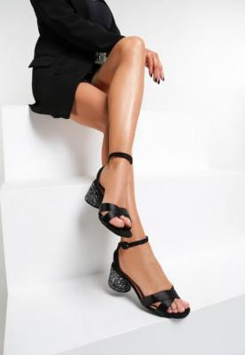 Czarne Sandały Coladeira