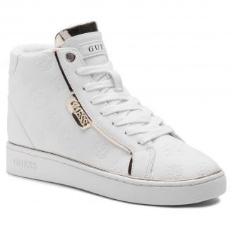 Sneakersy GUESS - Brina FL7BRN ELE12  WHITE