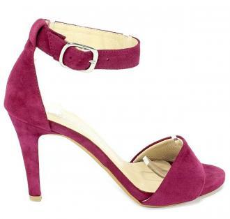 Sandały Cortesini 02224 Bordo/Zamsz