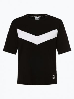 Puma - T-shirt damski, czarny