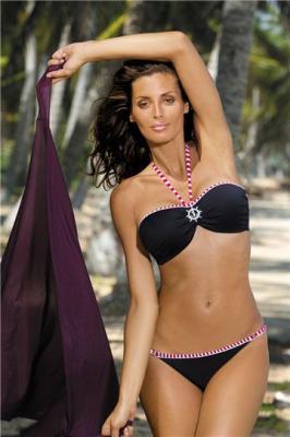 Kostium kąpielowy Rachel Nero M-261 Czarny (98)