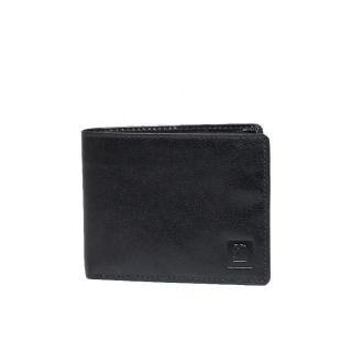portfel skórzany męski czarny