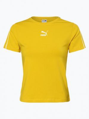 Puma - T-shirt damski, żółty