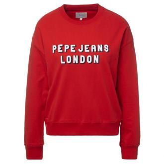 Pepe Jeans Bluza PL580852 Czerwony Oversize