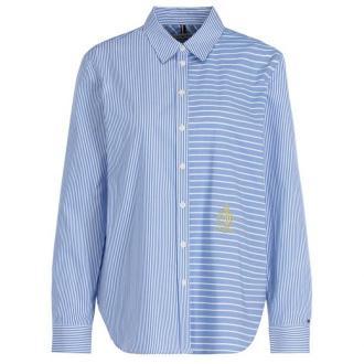TOMMY HILFIGER Koszula WW0WW25312 Niebieski Relaxed Fit