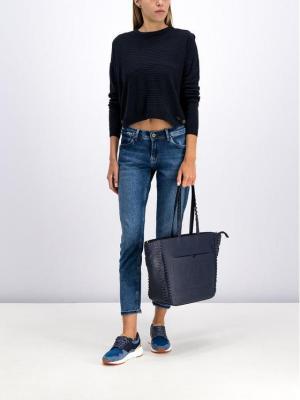 Pepe Jeans Sweter Celia PL701500 Czarny Regular Fit