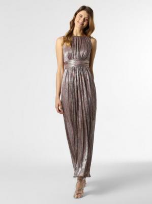 Swing - Damska sukienka wieczorowa, złoty