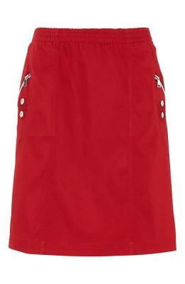 Soyaconcept Spódnica Akila czerwony