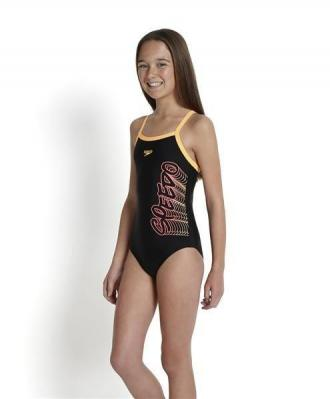 Strój Kąpielowy Speedo Girls' Thinstrap Muscleback Swimsuit 9533-A426