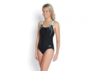 Strój Kąpielowy Speedo Women's Sports Logo Medalist Swimsuit 9689-7819