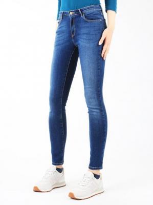Jeansy Wrangler® Skinny Authentic Blue W28KX785U