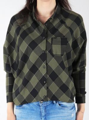 Koszula Wrangler L/S Clover Green W5176C8FR