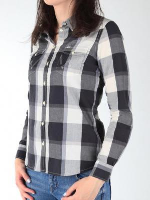 Koszula Wrangler L/S Western Shirt W50454MBU