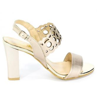 Sandały Gamis 3391 P70 Gold