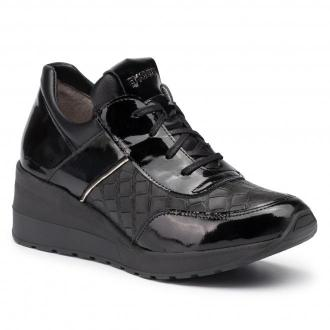 Sneakersy EKSBUT - 5702-121/M93/0SZ/0LS-1G Czarny