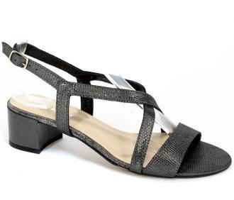 Sandały Lucca 707521 Szaro Srebrny