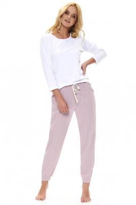 Dn-nightwear SPO.9759 Nocna spodnie - flamingo