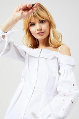 Koszula z ozdobnymi rękawami