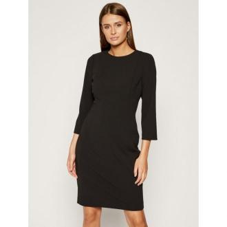 Calvin Klein Sukienka koktajlowa K20K201517 Czarny Regular Fit