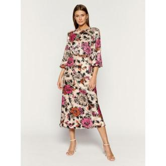 Pinko Sukienka letnia AI 19-20 PBK2 1B141V 7740 Kolorowy Regular Fit