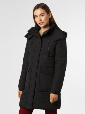 Pepe Jeans - Damski płaszcz pikowany, czarny