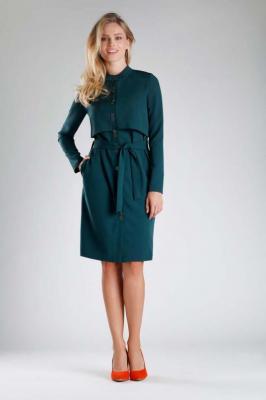 Zielona Elegancka Szmizjerka na Stójce