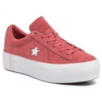 Sneakersy CONVERSE - 565379C Light Redwood/White/White