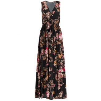 Liu Jo Sukienka codzienna W69301 T5523 Czarny Regular Fit
