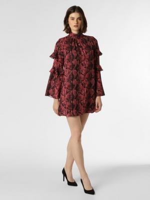 GUESS - Sukienka damska, różowy